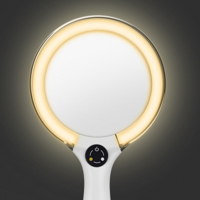 Starlite Hand Held Rechargeable Led Makeup Mirror Led